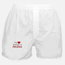 My heart belongs to Julissa Boxer Shorts