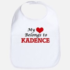 My heart belongs to Kadence Bib