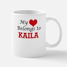 My heart belongs to Kaila Mugs