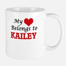 My heart belongs to Kailey Mugs