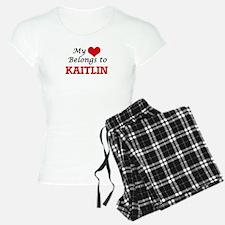 My heart belongs to Kaitlin Pajamas