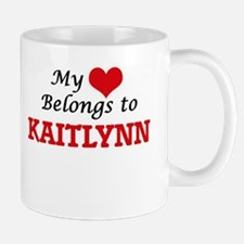 My heart belongs to Kaitlynn Mugs