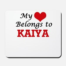My heart belongs to Kaiya Mousepad