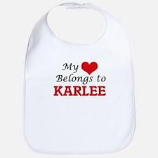 My heart belongs to Karlee Bib