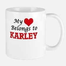 My heart belongs to Karley Mugs