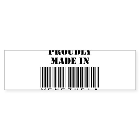Made in Venezuela Bumper Sticker