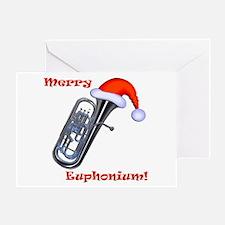 Merry Euphonium! Greeting Card