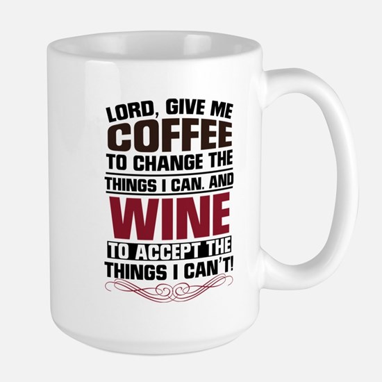 Coffee & Wine Large Mug