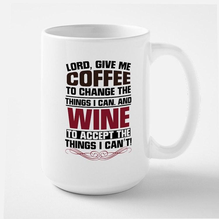 Coffee & Wine Large Mug