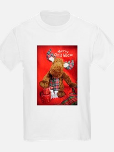 Merry Chris Moose T-Shirt