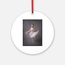 Degas Dancer Round Ornament