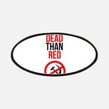 Better Dead than Red Patch