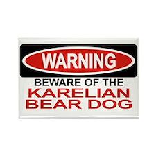 KARELIAN BEAR DOG Rectangle Magnet