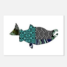 SALMON Postcards (Package of 8)