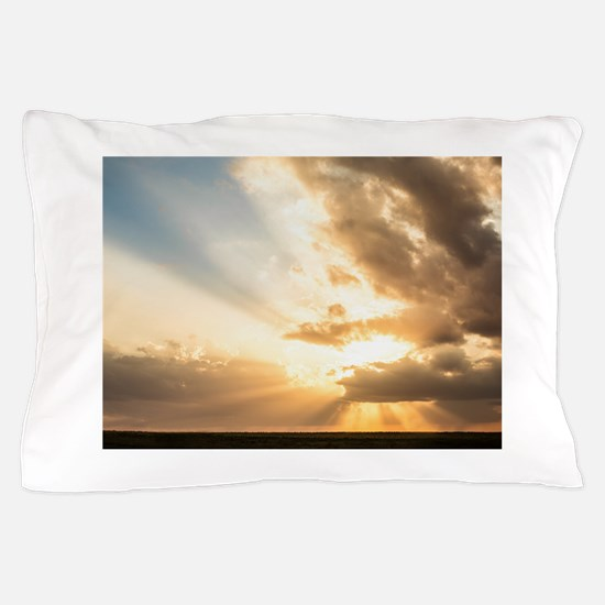 Heavenly Light Pillow Case