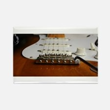 Close up music photo electric guitar Magnets
