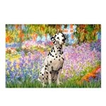 Garden / Dalmation Postcards (Package of 8)
