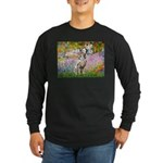 Garden / Dalmation Long Sleeve Dark T-Shirt