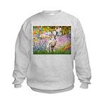Garden / Dalmation Kids Sweatshirt