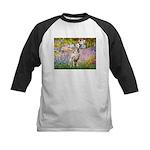 Garden / Dalmation Kids Baseball Jersey