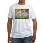 Garden / Dalmation Fitted T-Shirt