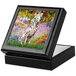 Garden / Dalmation Keepsake Box