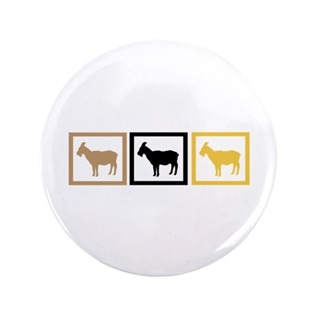 """Goat Squares 3.5"""" Button (100 pack)"""