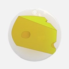 Cheese Round Ornament