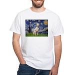 Starry /Dalmatian White T-Shirt