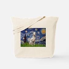 Starry /Dalmatian Tote Bag