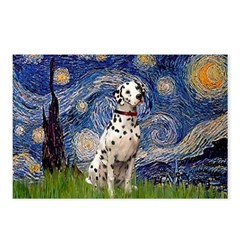 Starry /Dalmatian Postcards (Package of 8)