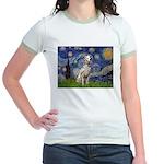 Starry /Dalmatian Jr. Ringer T-Shirt