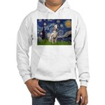 Starry /Dalmatian Hooded Sweatshirt