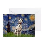 Starry /Dalmatian Greeting Card