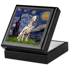Starry /Dalmatian Keepsake Box