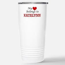My heart belongs to Kat Travel Mug