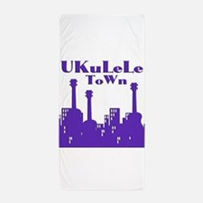 Cool Ukulele Beach Towel