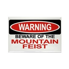 MOUNTAIN FEIST Rectangle Magnet