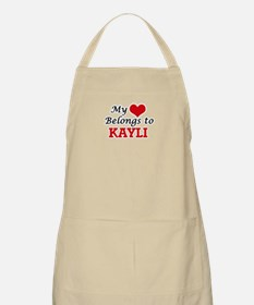 My heart belongs to Kayli Apron