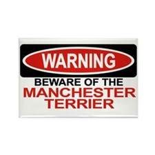 MANCHESTER TERRIER Rectangle Magnet