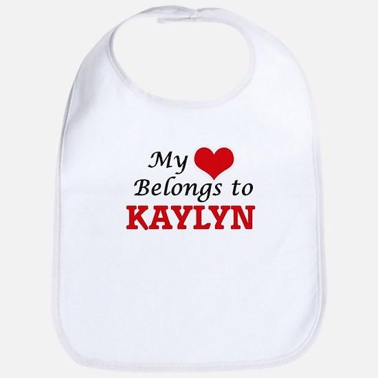 My heart belongs to Kaylyn Bib