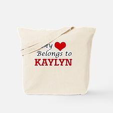 My heart belongs to Kaylyn Tote Bag