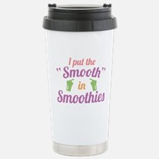 SmoothInSmoothies1C.png Stainless Steel Travel Mug