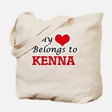 My heart belongs to Kenna Tote Bag