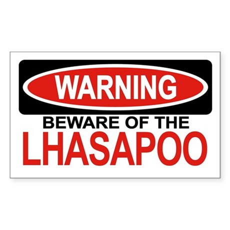 LHASAPOO Rectangle Sticker