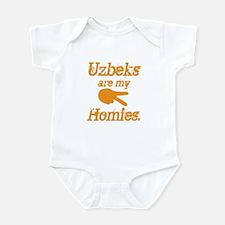 Uzbekistani homies Infant Bodysuit