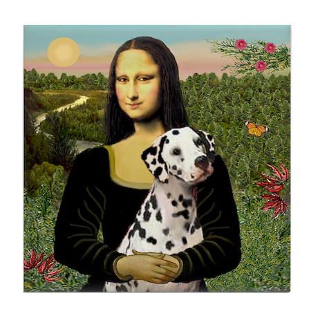 Mona / Dalmation Tile Coaster