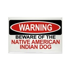 NATIVE AMERICAN INDIAN DOG Rectangle Magnet