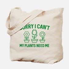 Sorry I Can't Tote Bag
