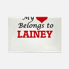 My heart belongs to Lainey Magnets